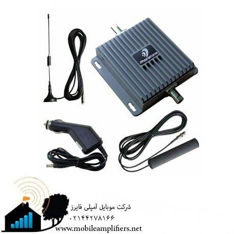 دستگاه تقویت آنتن تلفن همراه در خودرو